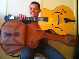 Ghali, guitariste de Jazz